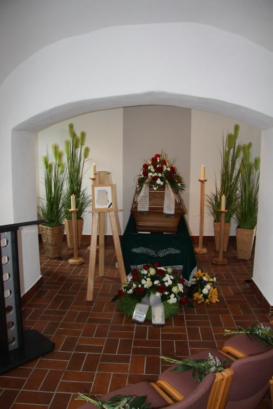 Funeral Hall of the Bergfriedhof Schleiz
